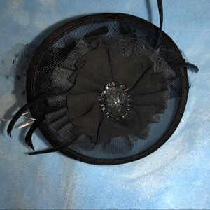 Disney Haunted Mansion Fascinator Headband Hat NWT